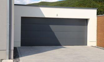 Porte de garage isolante
